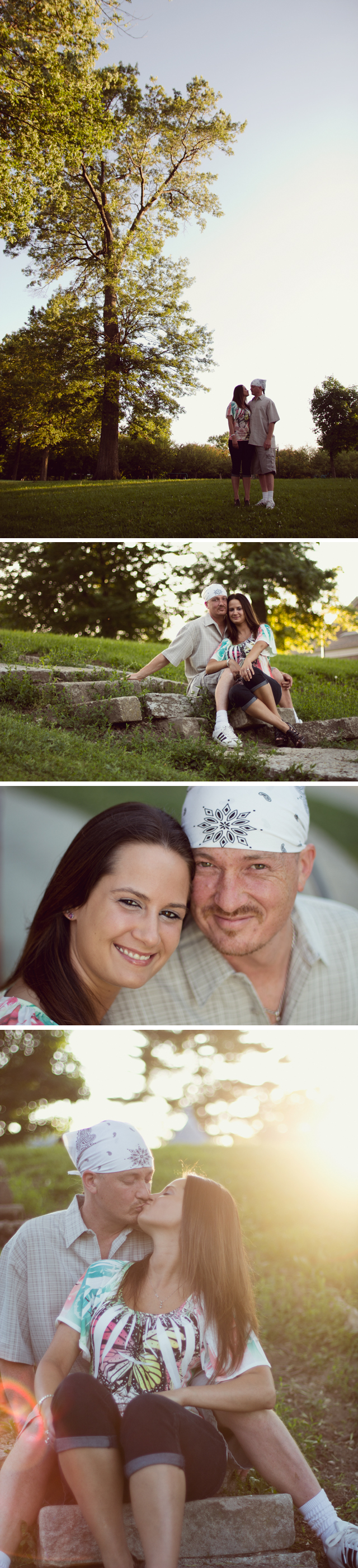 indianapolis engagement photo